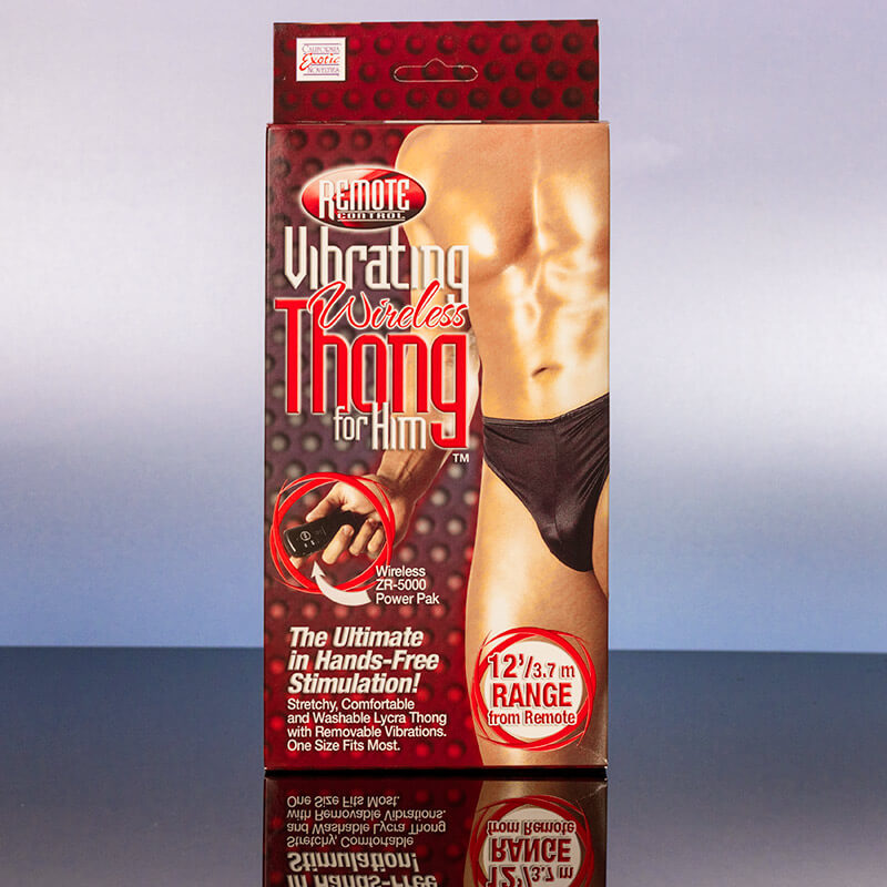 Remote Control Vibrating Wireless Thong For Men