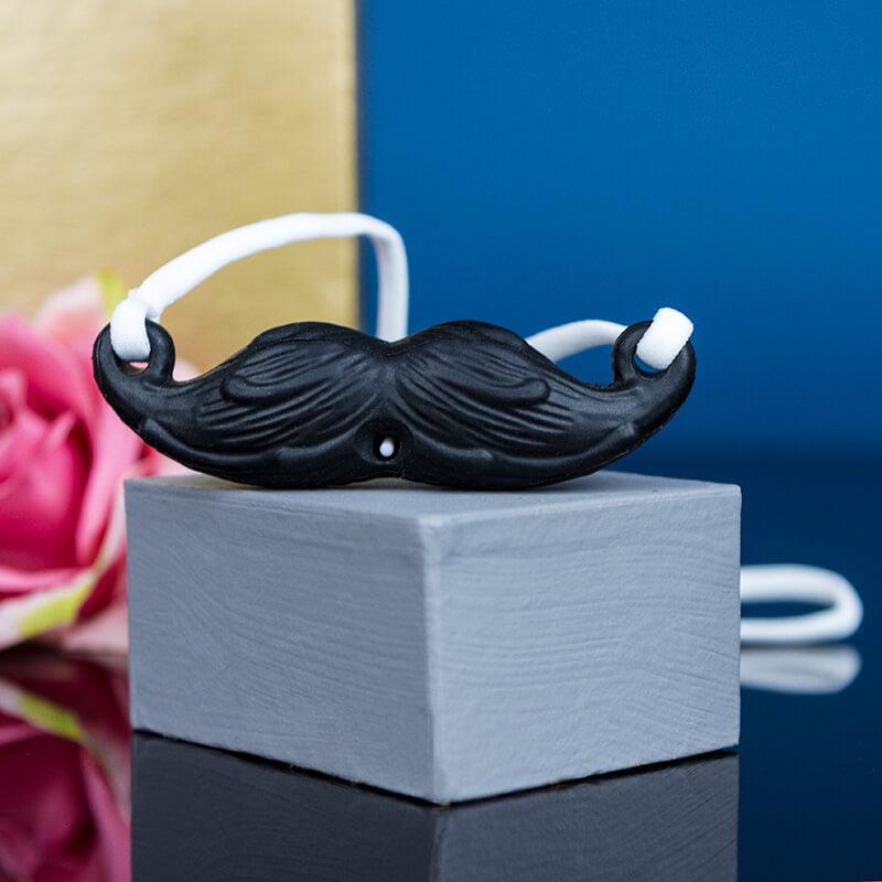 Screaming O MustachiO Vibrator - Black