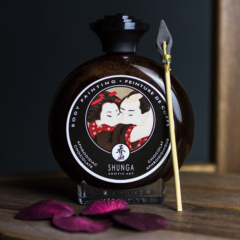 Shunga Edible Body Paint - Aphrodisiac Chocolate
