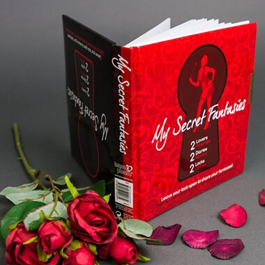 My Secret Fantasies - Locking Diaries For Couples