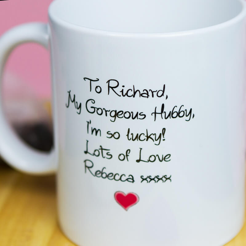 Personalised I Love You Mug