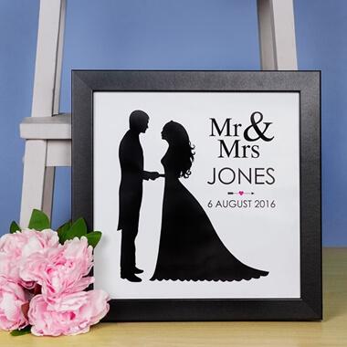 Personalised Mr & Mrs Print