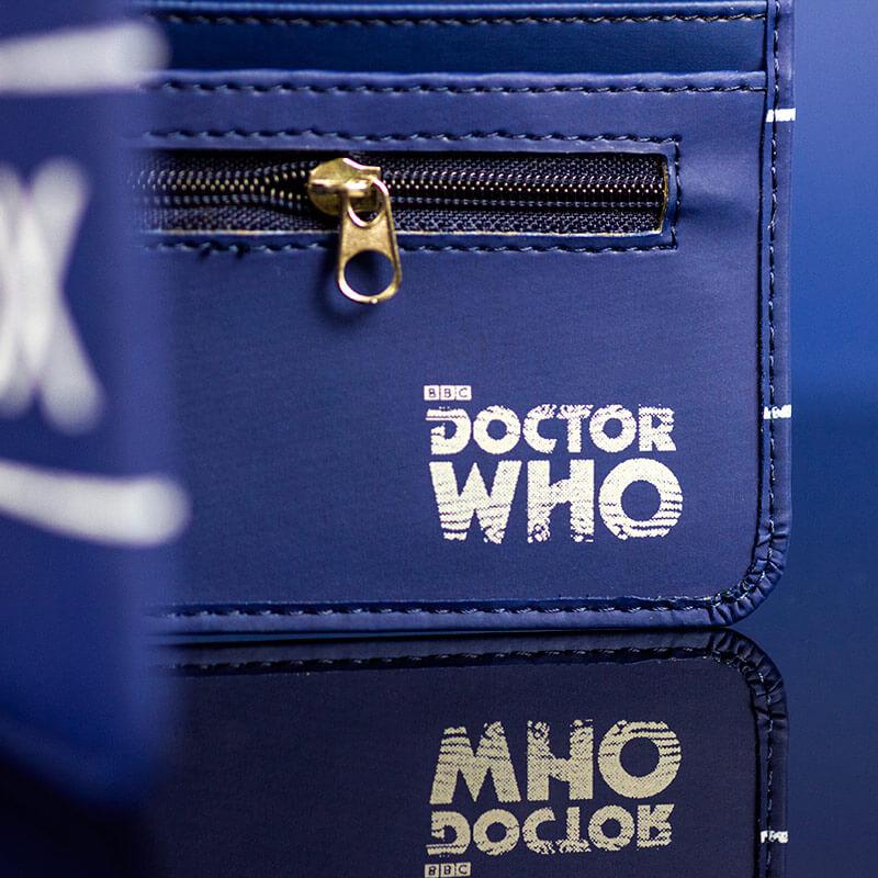 Dr Who Tardis Wallet