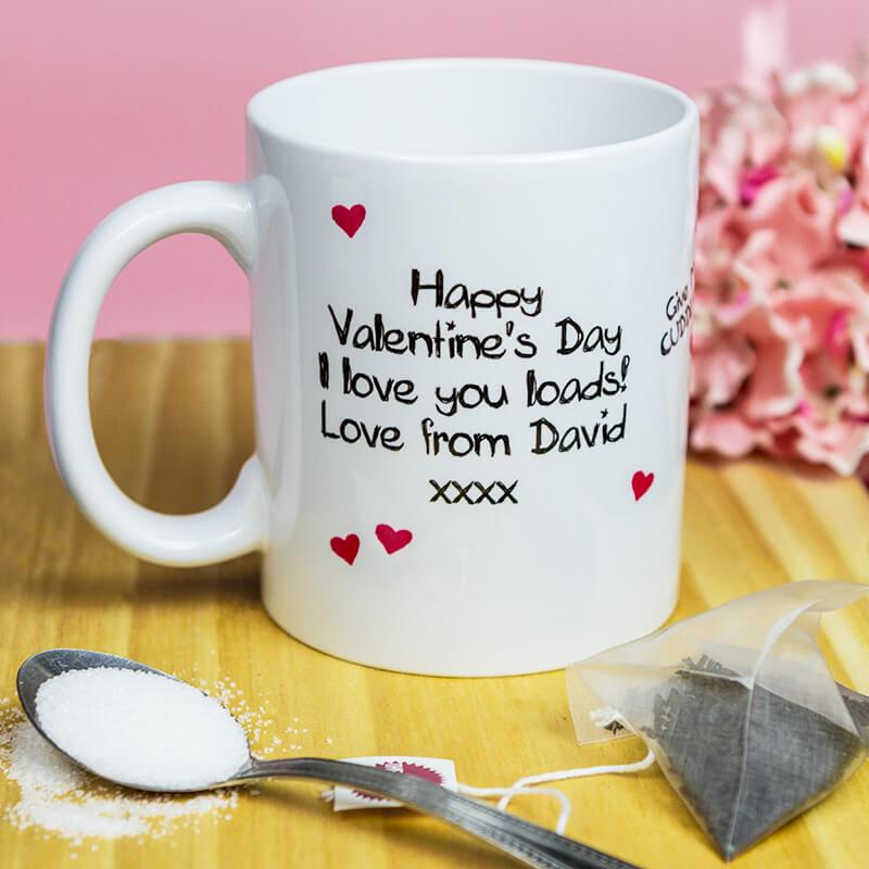 Personalised Love Monster Mug