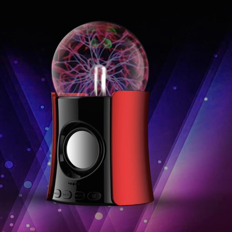 Bluetooth Plasma Ball Speaker