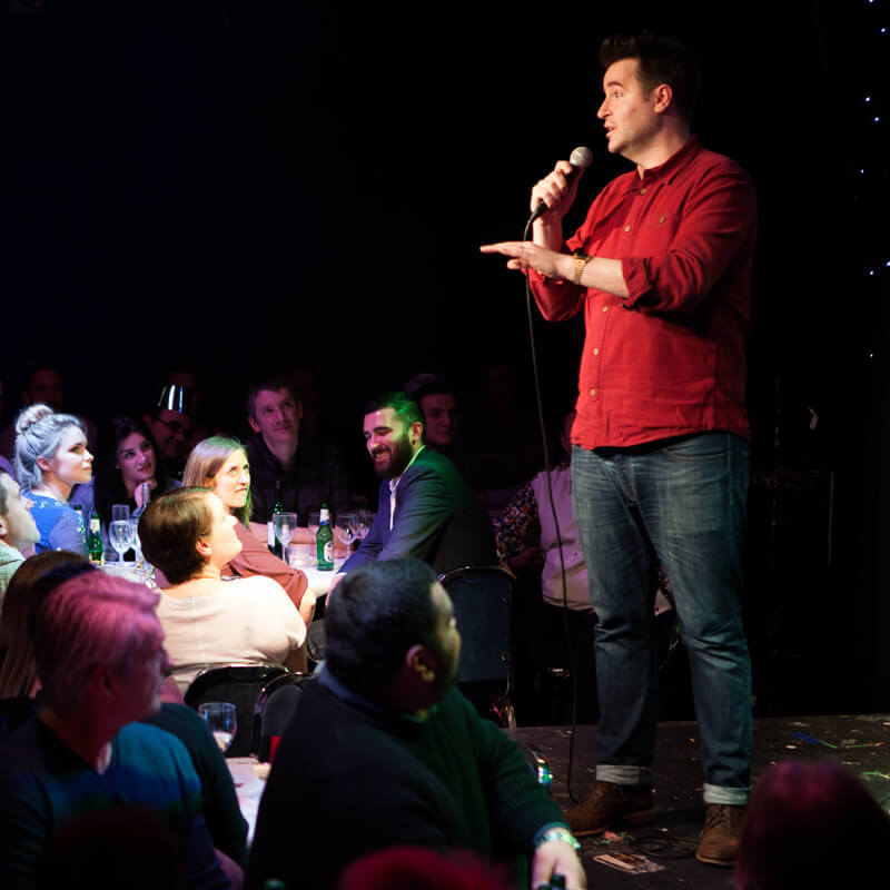 Jongleurs Comedy Pass for Two