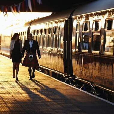 The Golden Age of Travel on The Belmond British Pullman for Two