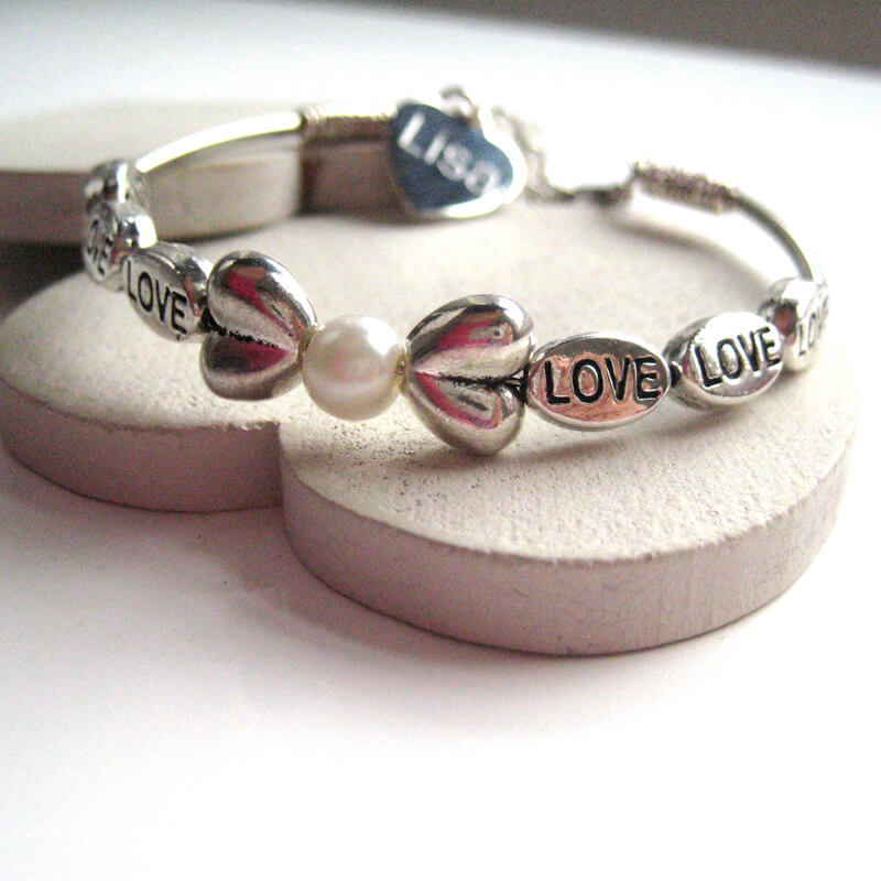 Personalised Amore Bracelet