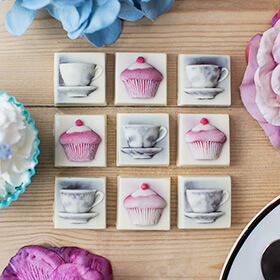 Chocolate Tea and Cupcakes