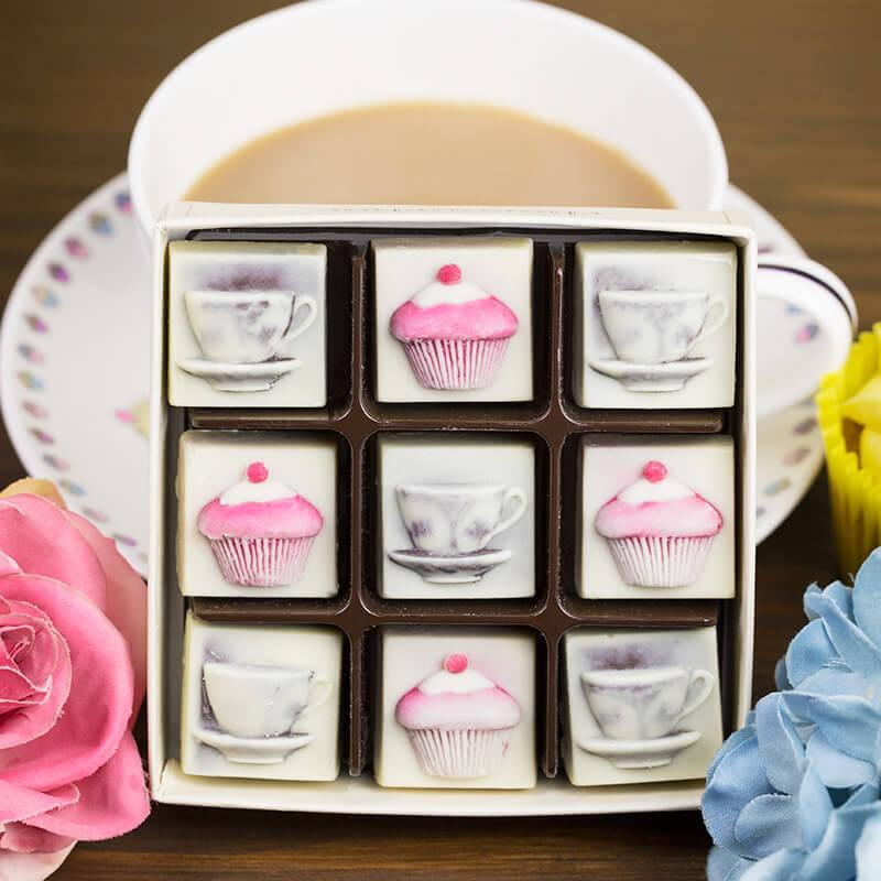 Chocolate Tea and Cupcakes