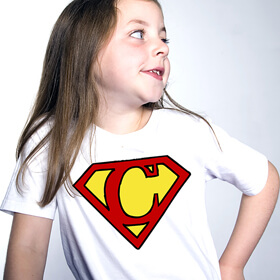 Personalised Rebels Super Hero T-Shirt