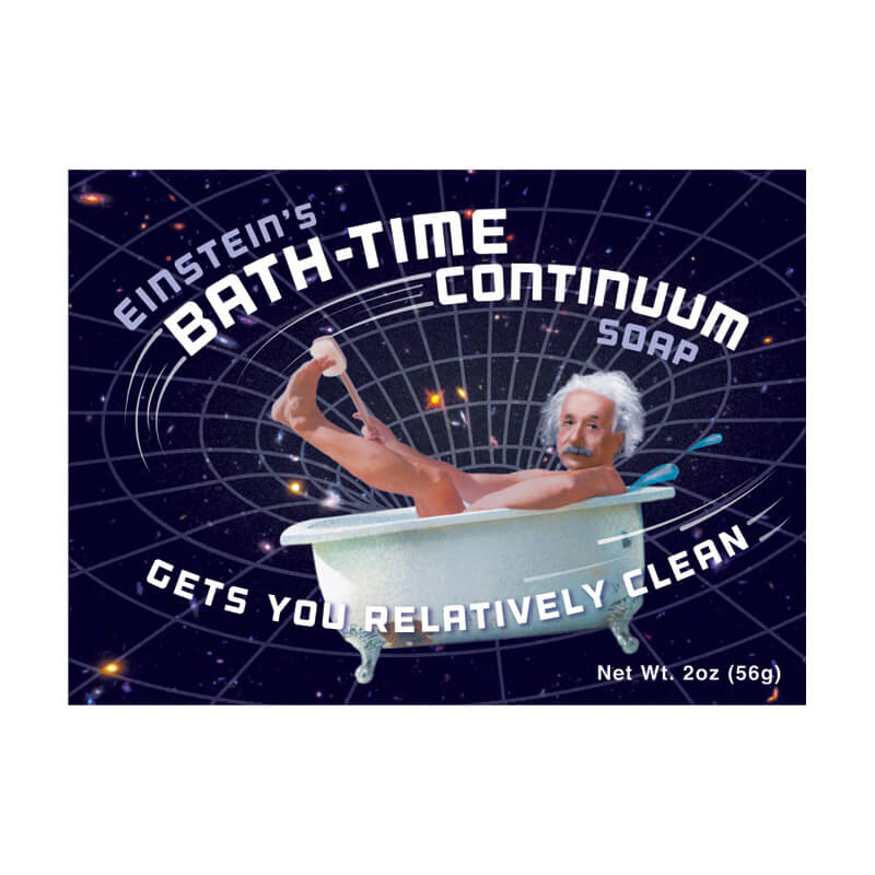 Einsteins Bath Time Continuum Transforming Soap