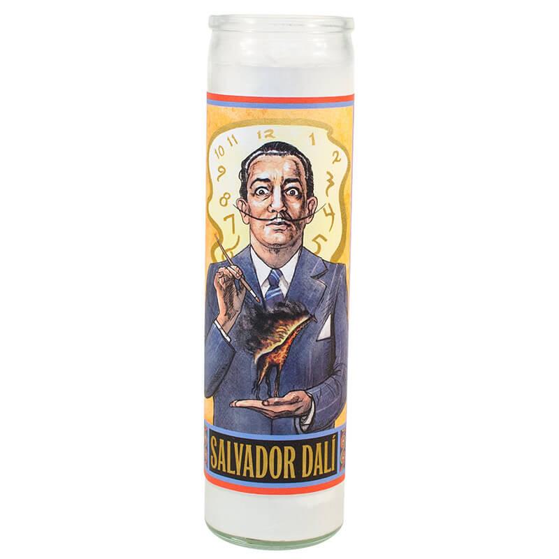 Secular Saints - Salvador Dali Candle