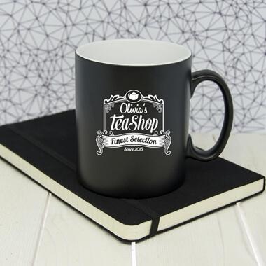 Personalised Tea Shop Mug