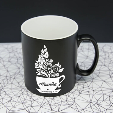 Personalised You're My Cup Of Tea Mug