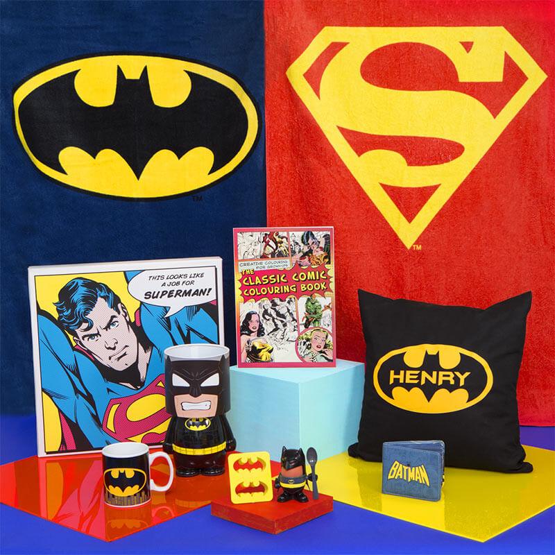 Personalised Batman Cushion