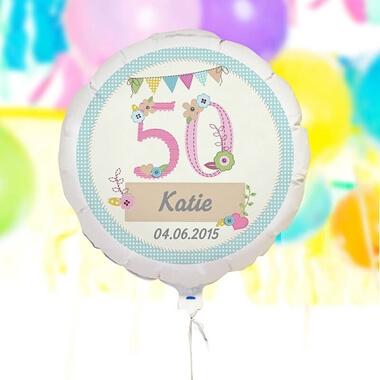 Personalised Birthday Craft Balloon