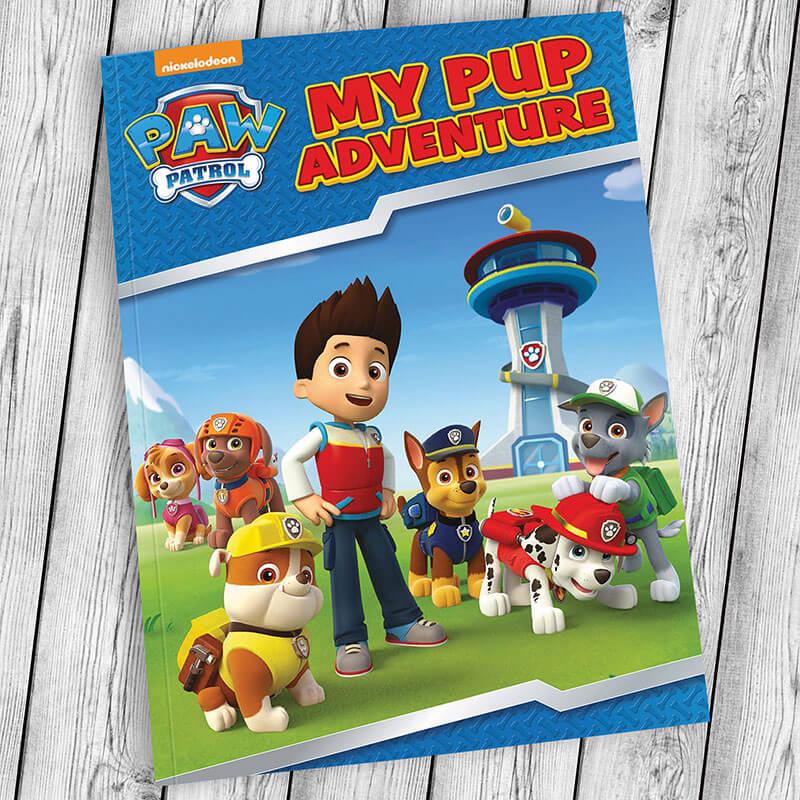 Personalised Paw Patrol Adventure Book