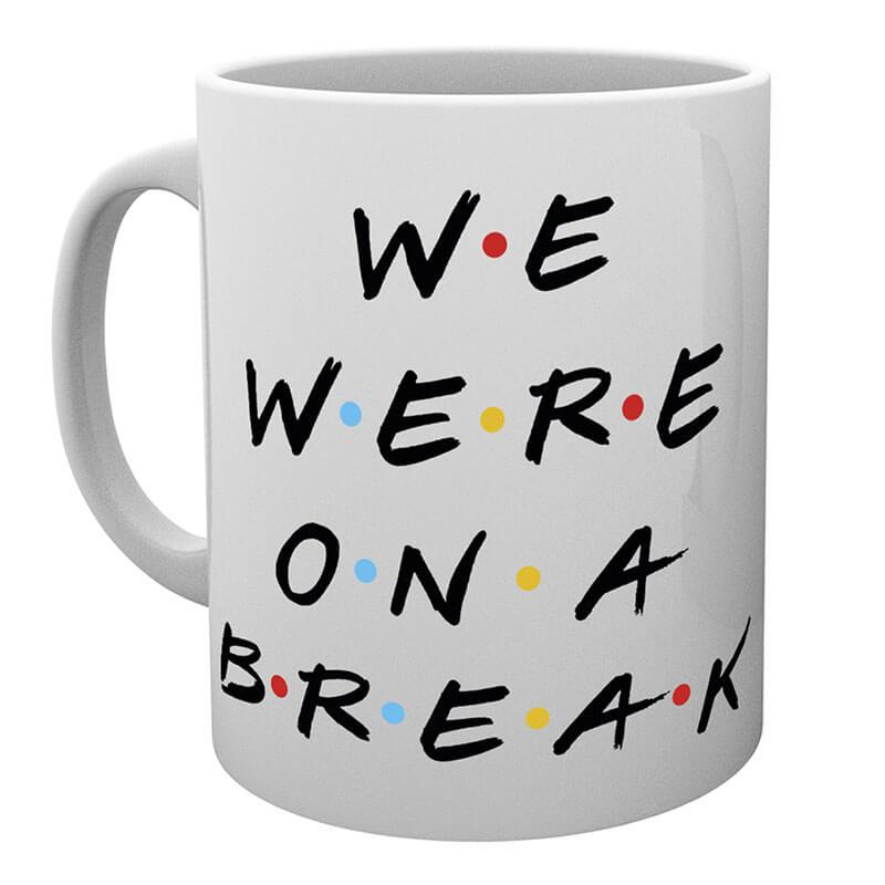 Friends Mug - We Were On A Break