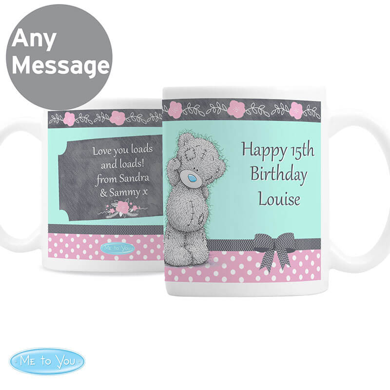 Personalised Me To You Belle Mug