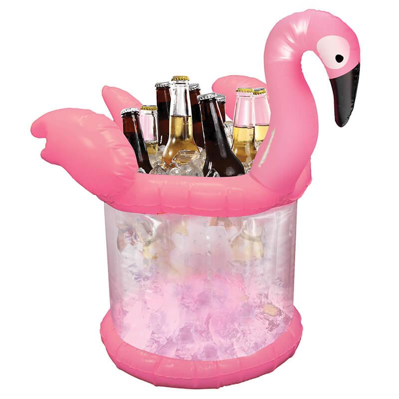 Flamingo Inflatable Ice Bucket