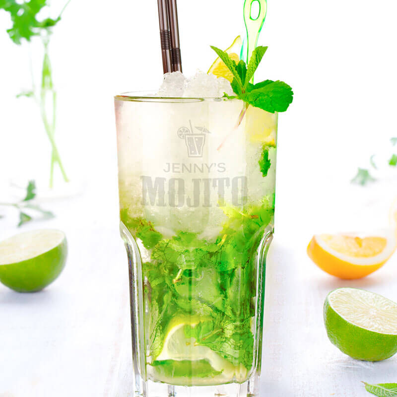 Personalised Mojito Glass