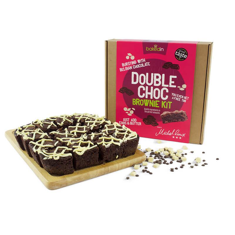 Double Chocolate Brownie Kit