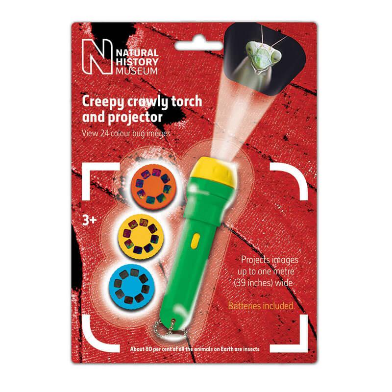 Creepy Crawly Torch & Projector
