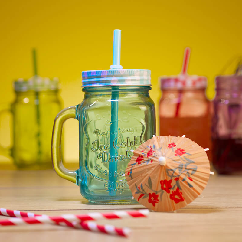 Personalised Mason Jar - Coloured