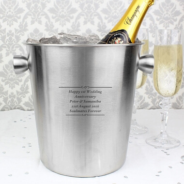 Personalised Ice Bucket - Any Message
