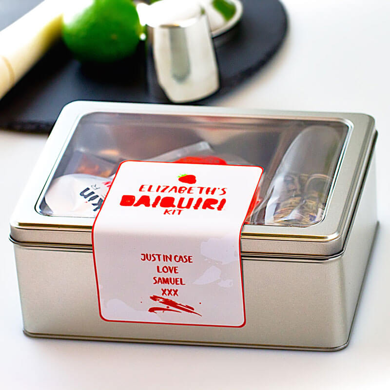 Personalised Daiquiri Cocktail Kit