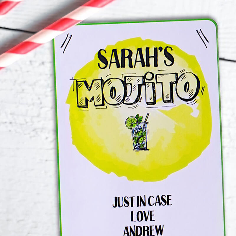 Personalised Mojito Cocktail Kit