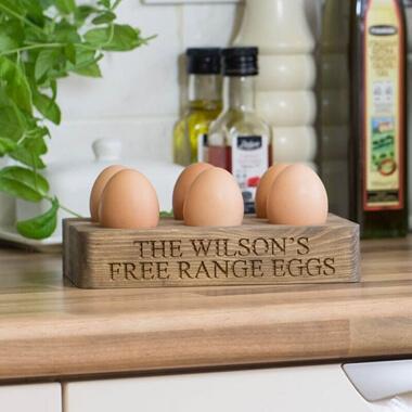 Personalised 1/2 Dozen Egg Holder