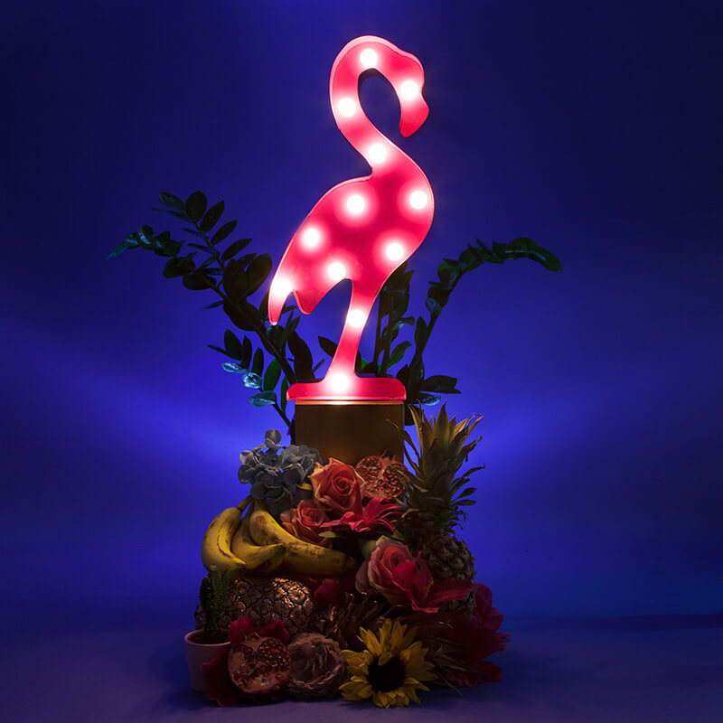 Fiesta Flamingo Light