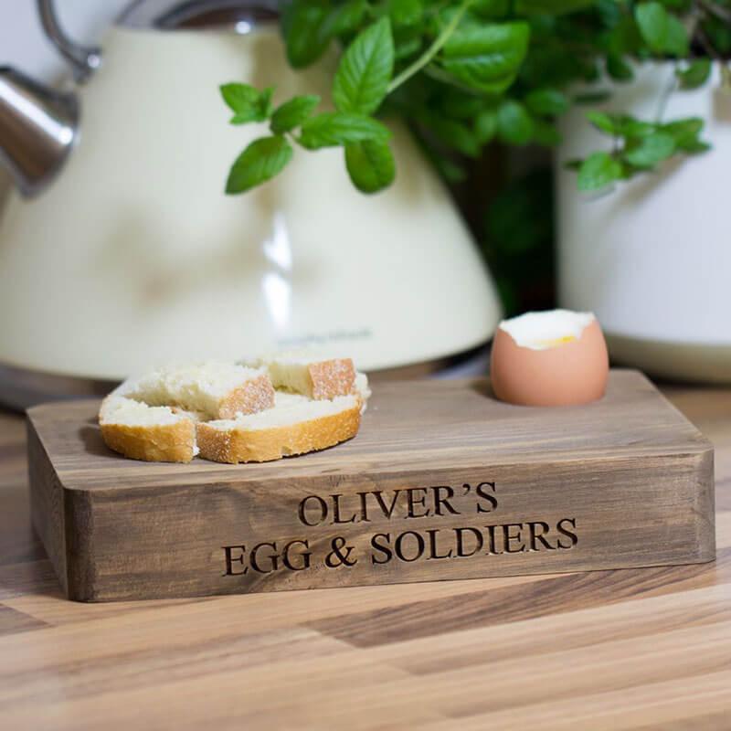 Personalised Egg & Soldiers Board