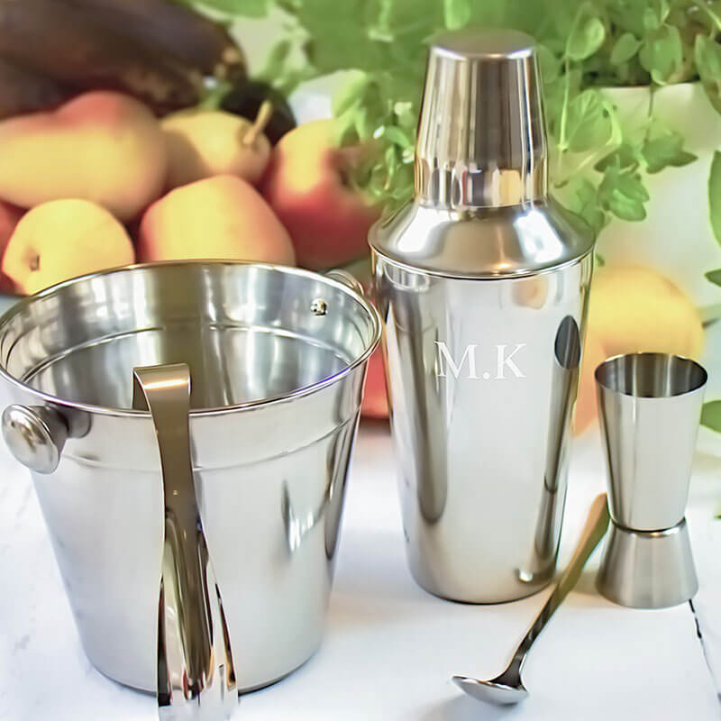 Personalised 5 Piece Cocktail Kit