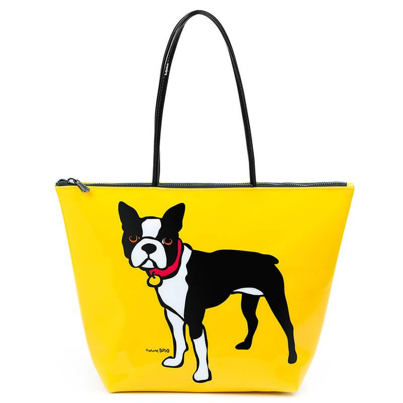 Marc Tetro Boston Terrier Tote Bag