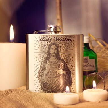 Holy Waters Hip Flask