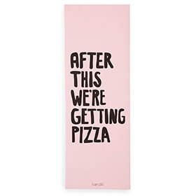 After This We're Getting Pizza Exercise Mat