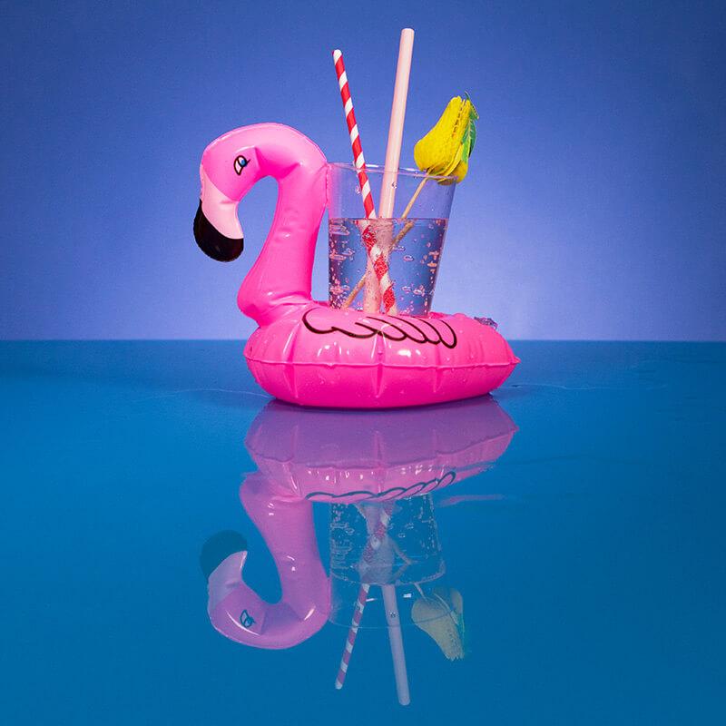 Flamingo Inflatable Drinks Holder
