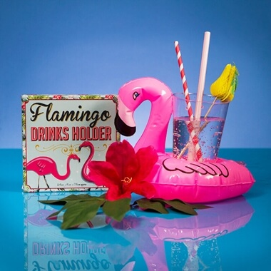 Flamingo Inflatable Drinks Holder