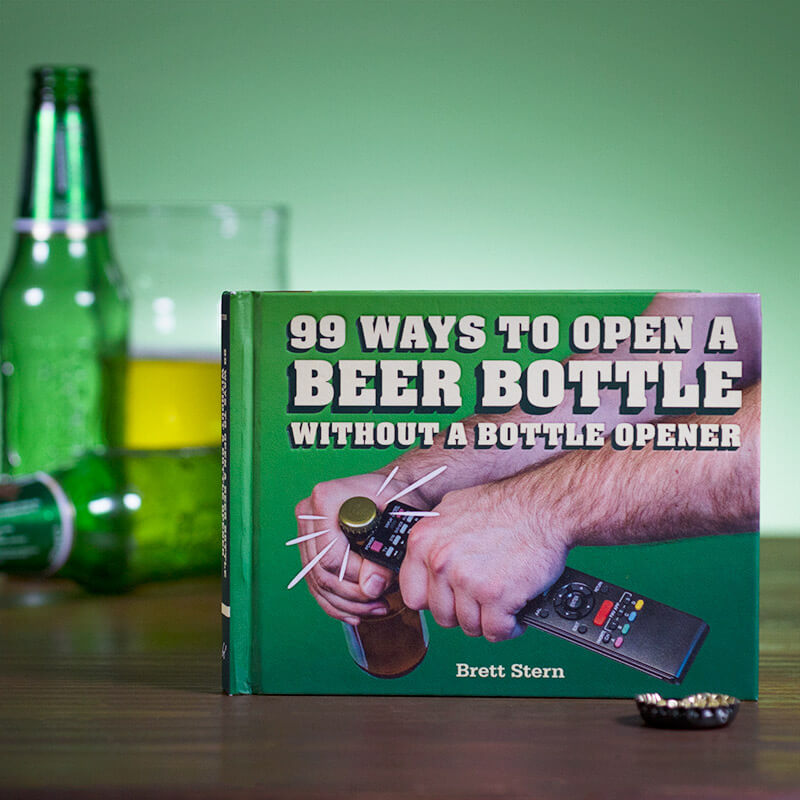 99 Ways To Open A Beer: Without A Bottle Opener