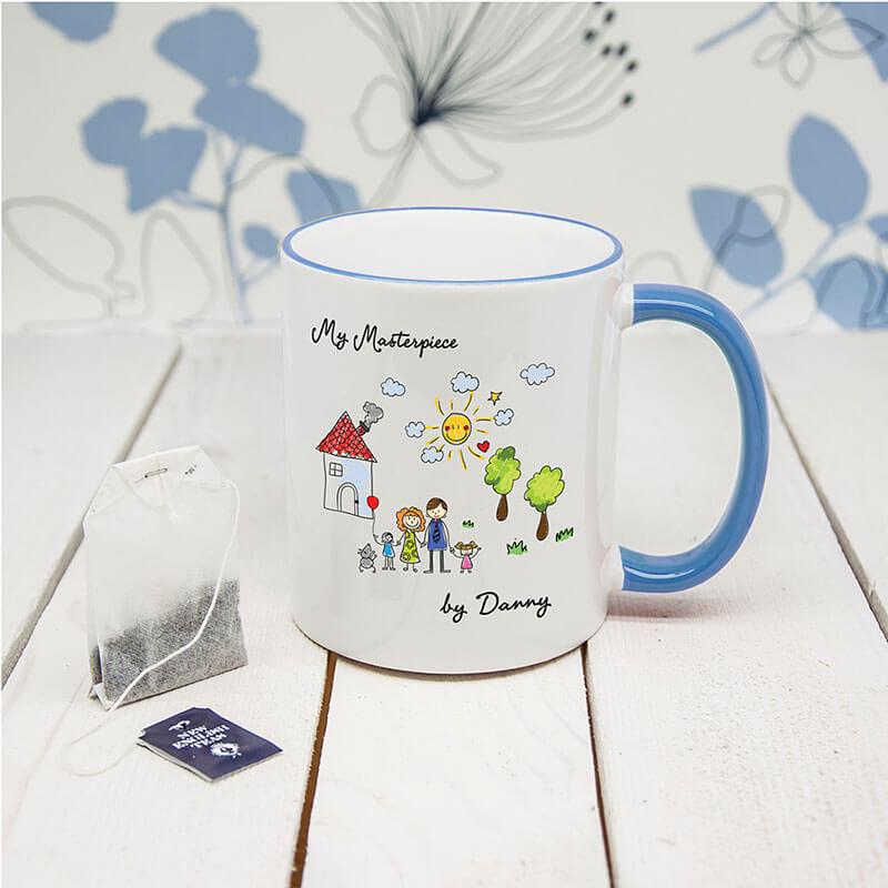 Personalised Artwork Mug