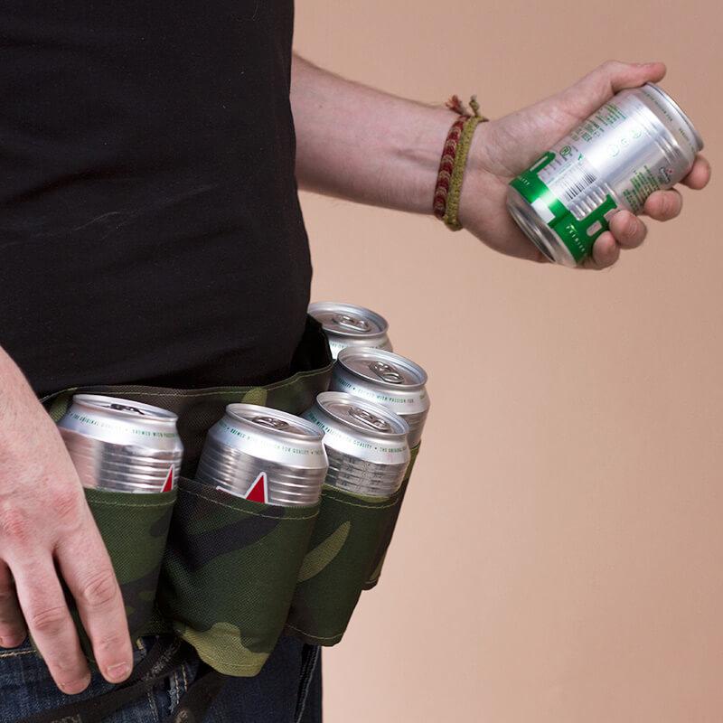 6 Pack Beer Belt