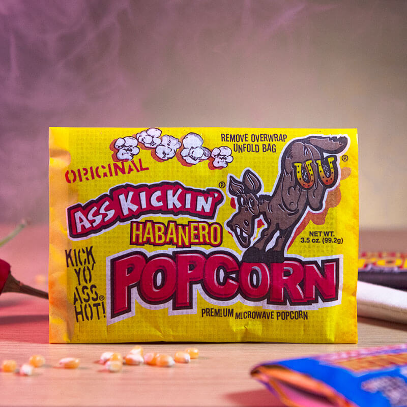 Ass Kickin' Muslin MicrowavePopcorn
