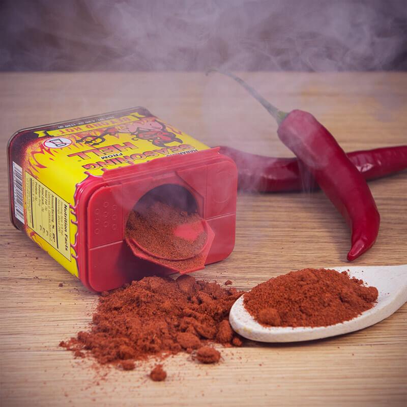 Habanero Seasoning From Hell