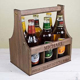 Personalised Garden Beer Trug