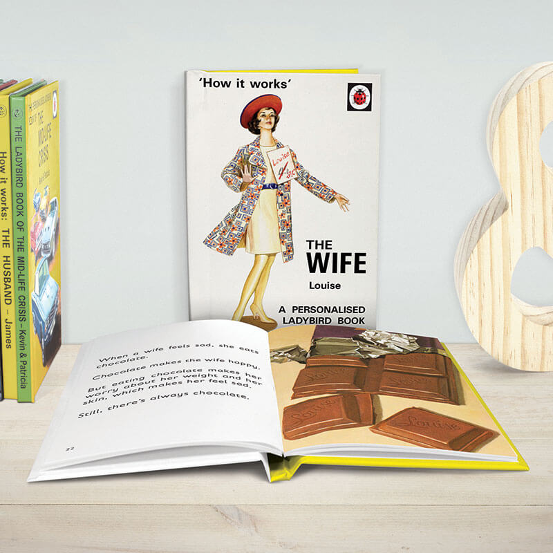 Personalised Ladybird Book of The Wife