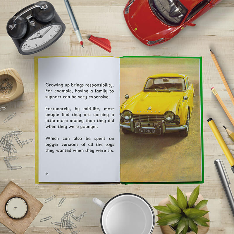 Personalised Ladybird Book of The Midlife Crisis