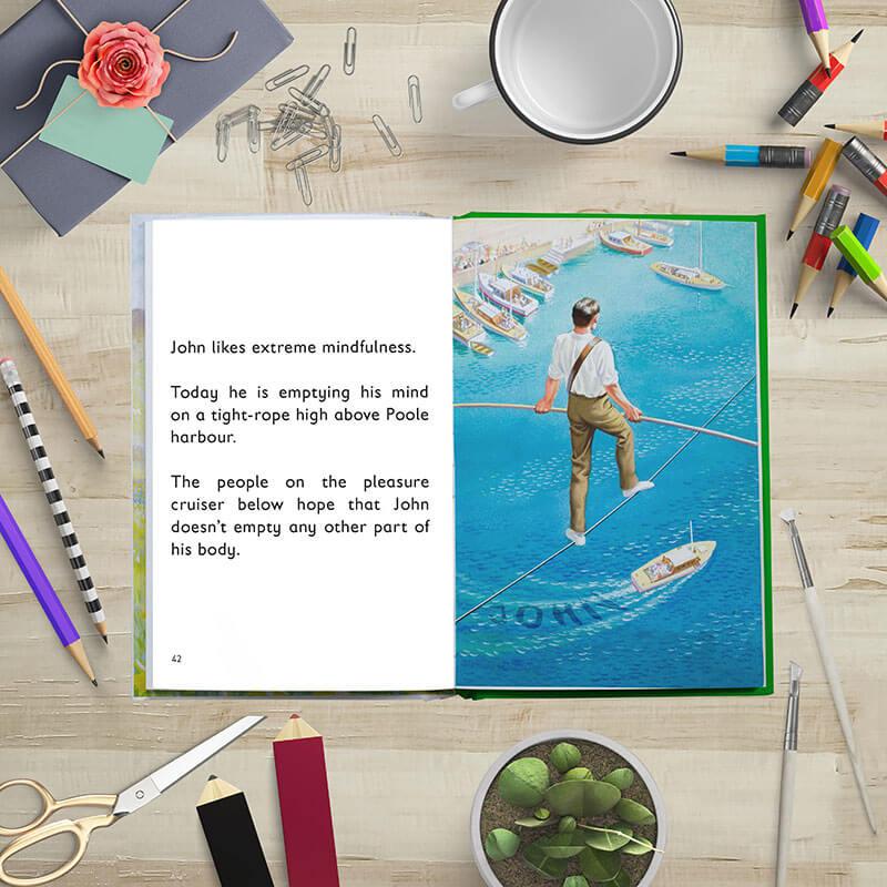 Personalised Ladybird Book of Mindfulness
